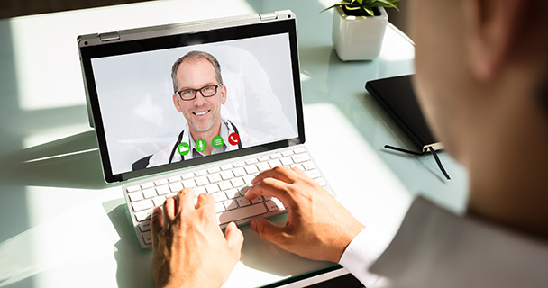 Blog: Survey Shows Privileging for Telehealth a Big Issue in 2020 and Beyond_1000963898